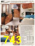 1987 Sears Fall Winter Catalog, Page 743