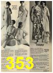 1968 Sears Fall Winter Catalog, Page 353