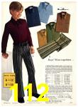 1971 Sears Fall Winter Catalog, Page 112