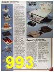 1986 Sears Fall Winter Catalog, Page 993