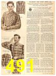 1956 Sears Fall Winter Catalog, Page 491