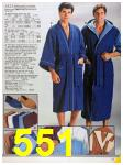1986 Sears Fall Winter Catalog, Page 551