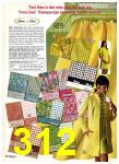 1969 Sears Spring Summer Catalog, Page 312