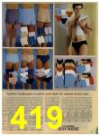 1984 Sears Spring Summer Catalog, Page 419