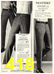 1969 Sears Fall Winter Catalog, Page 418