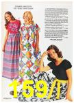 1972 Sears Spring Summer Catalog, Page 159