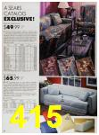 1989 Sears Home Annual Catalog, Page 415