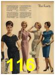 1962 Sears Spring Summer Catalog, Page 116