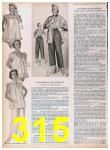 1957 Sears Spring Summer Catalog, Page 315