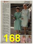 1984 Sears Spring Summer Catalog, Page 168