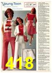 1977 Sears Spring Summer Catalog, Page 418