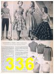1957 Sears Spring Summer Catalog, Page 336