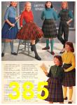 1960 Sears Fall Winter Catalog, Page 385