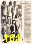 1975 Sears Spring Summer Catalog, Page 161
