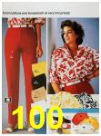 1986 Sears Spring Summer Catalog, Page 100