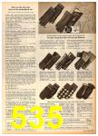 1958 Sears Fall Winter Catalog, Page 535