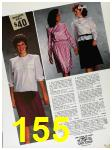1985 Sears Fall Winter Catalog, Page 155