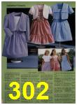 1984 Sears Spring Summer Catalog, Page 302