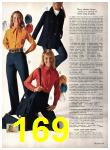 1971 Sears Fall Winter Catalog, Page 169