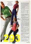 1972 Sears Spring Summer Catalog, Page 293