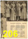 1960 Sears Spring Summer Catalog, Page 206