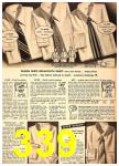 1949 Sears Spring Summer Catalog, Page 339