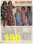 1984 Sears Spring Summer Catalog, Page 190