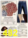 1982 Sears Fall Winter Catalog, Page 482