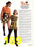1971 Sears Fall Winter Catalog, Page 189