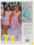 1985 Sears Spring Summer Catalog, Page 71
