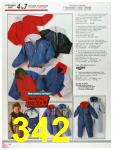 1986 Sears Fall Winter Catalog, Page 342