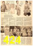 1956 Sears Fall Winter Catalog, Page 424