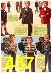 1962 Sears Fall Winter Catalog, Page 437