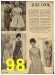 1962 Sears Spring Summer Catalog, Page 98
