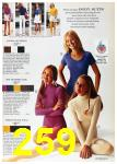 1972 Sears Spring Summer Catalog, Page 259