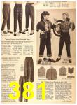 1956 Sears Fall Winter Catalog, Page 381