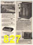 1973 Sears Fall Winter Catalog, Page 827