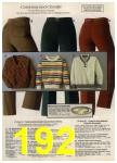 1980 Sears Fall Winter Catalog, Page 192