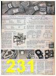 1957 Sears Spring Summer Catalog, Page 231