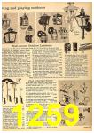 1962 Sears Fall Winter Catalog, Page 1259