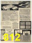 1965 Sears Fall Winter Catalog, Page 812