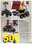 1986 Sears Spring Summer Catalog, Page 506