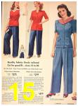 1942 Sears Spring Summer Catalog, Page 15