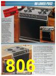 1986 Sears Spring Summer Catalog, Page 806