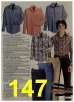 1980 Sears Fall Winter Catalog, Page 147