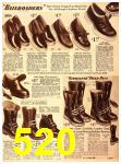 1940 Sears Fall Winter Catalog, Page 520