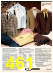 1982 Sears Fall Winter Catalog, Page 461