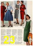 1958 Sears Fall Winter Catalog, Page 23