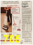 1987 Sears Fall Winter Catalog, Page 705
