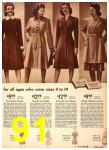 1942 Sears Spring Summer Catalog, Page 91